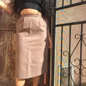 Dresses & Skirts - Vintage Wool Pencil Skirt